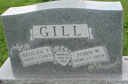 GILL, BEULAH V. - Yankton County, South Dakota | BEULAH V. GILL - South Dakota Gravestone Photos