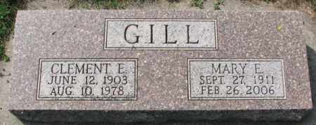 GILL, CLEMENT E. - Yankton County, South Dakota | CLEMENT E. GILL - South Dakota Gravestone Photos