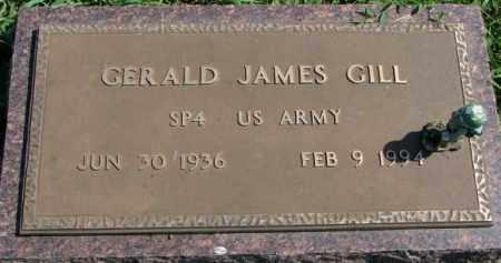 GILL, GERALD JAMES (MILITARY) - Yankton County, South Dakota | GERALD JAMES (MILITARY) GILL - South Dakota Gravestone Photos