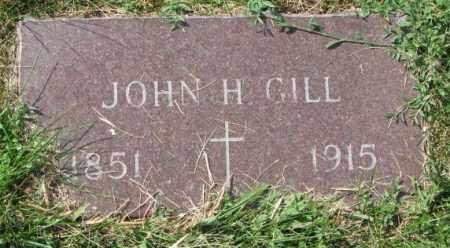 GILL, JOHN H. - Yankton County, South Dakota | JOHN H. GILL - South Dakota Gravestone Photos