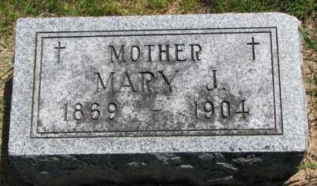 GILL, MARY J. - Yankton County, South Dakota | MARY J. GILL - South Dakota Gravestone Photos
