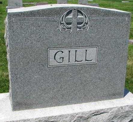 GILL, PLOT - Yankton County, South Dakota | PLOT GILL - South Dakota Gravestone Photos