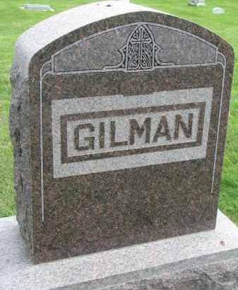 GILMAN, FAMILY STONE - Yankton County, South Dakota | FAMILY STONE GILMAN - South Dakota Gravestone Photos