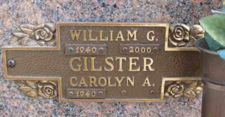 GILSTER, WILLIAM G. - Yankton County, South Dakota | WILLIAM G. GILSTER - South Dakota Gravestone Photos