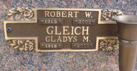 GLEICH, GLADYS M. - Yankton County, South Dakota | GLADYS M. GLEICH - South Dakota Gravestone Photos