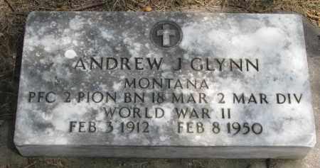 GLYNN, ANDREW J. - Yankton County, South Dakota | ANDREW J. GLYNN - South Dakota Gravestone Photos