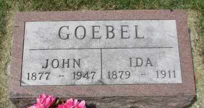 GOEBEL, IDA - Yankton County, South Dakota | IDA GOEBEL - South Dakota Gravestone Photos