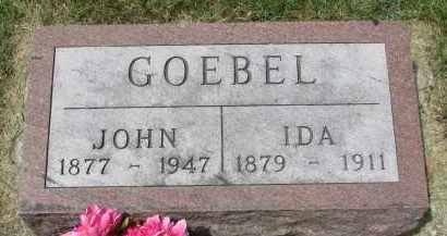 GOEBEL, JOHN - Yankton County, South Dakota | JOHN GOEBEL - South Dakota Gravestone Photos