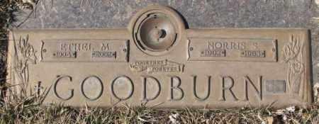 GOODBURN, NORRIS S. - Yankton County, South Dakota   NORRIS S. GOODBURN - South Dakota Gravestone Photos