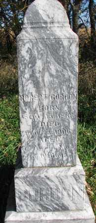 GORDON, ROBERT - Yankton County, South Dakota | ROBERT GORDON - South Dakota Gravestone Photos