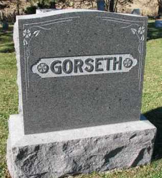 GORSETH, FAMILY STONE - Yankton County, South Dakota | FAMILY STONE GORSETH - South Dakota Gravestone Photos