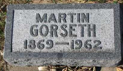 GORSETH, MARTIN - Yankton County, South Dakota | MARTIN GORSETH - South Dakota Gravestone Photos