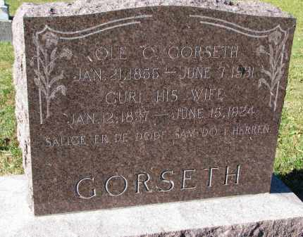 GORSETH, GURI - Yankton County, South Dakota | GURI GORSETH - South Dakota Gravestone Photos