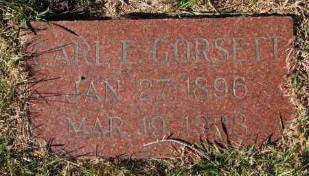 GORSETT, CARL E. - Yankton County, South Dakota | CARL E. GORSETT - South Dakota Gravestone Photos