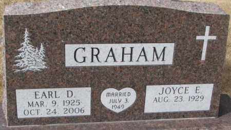 GRAHAM, EARL D. - Yankton County, South Dakota | EARL D. GRAHAM - South Dakota Gravestone Photos