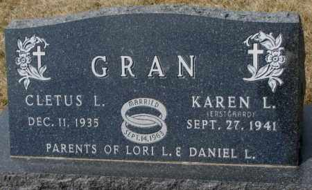 ERSTGAARD GRAN, KAREN L. - Yankton County, South Dakota | KAREN L. ERSTGAARD GRAN - South Dakota Gravestone Photos