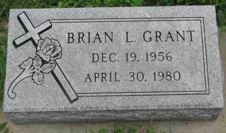 GRANT, BRIAN L. - Yankton County, South Dakota | BRIAN L. GRANT - South Dakota Gravestone Photos