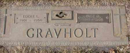 GRAVHOLT, INEZ O. - Yankton County, South Dakota | INEZ O. GRAVHOLT - South Dakota Gravestone Photos