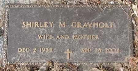 GRAVHOLT, SHIRLEY M. - Yankton County, South Dakota | SHIRLEY M. GRAVHOLT - South Dakota Gravestone Photos