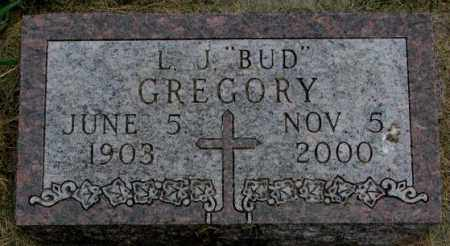 "GREGORY, L.J. ""BUD"" - Yankton County, South Dakota 