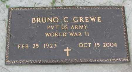 GREWE, BRUNO C. - Yankton County, South Dakota | BRUNO C. GREWE - South Dakota Gravestone Photos