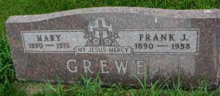 GREWE, FRANK J. - Yankton County, South Dakota | FRANK J. GREWE - South Dakota Gravestone Photos