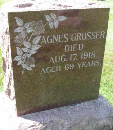 GROSSER, AGNES - Yankton County, South Dakota | AGNES GROSSER - South Dakota Gravestone Photos