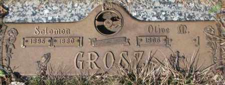 GROSZ, OLIVE M. - Yankton County, South Dakota | OLIVE M. GROSZ - South Dakota Gravestone Photos