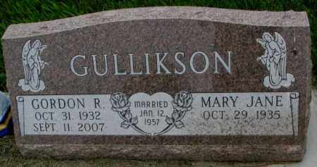 GULLIKSON, MARY JANE - Yankton County, South Dakota | MARY JANE GULLIKSON - South Dakota Gravestone Photos