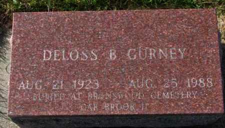 GURNEY, DELOSS B. - Yankton County, South Dakota | DELOSS B. GURNEY - South Dakota Gravestone Photos
