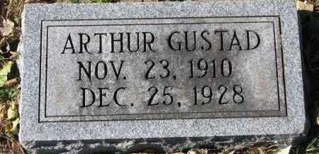 GUSTAD, ARTHUR - Yankton County, South Dakota | ARTHUR GUSTAD - South Dakota Gravestone Photos