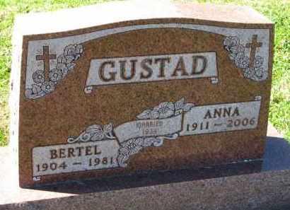 GUSTAD, ANNA - Yankton County, South Dakota | ANNA GUSTAD - South Dakota Gravestone Photos