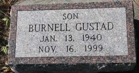 GUSTAD, BURNELL - Yankton County, South Dakota | BURNELL GUSTAD - South Dakota Gravestone Photos