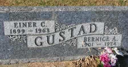 GUSTAD, EINER C. - Yankton County, South Dakota | EINER C. GUSTAD - South Dakota Gravestone Photos