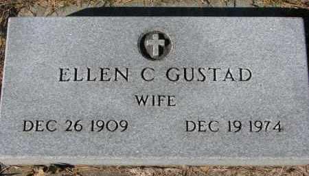 GUSTAD, ELLEN C. - Yankton County, South Dakota | ELLEN C. GUSTAD - South Dakota Gravestone Photos