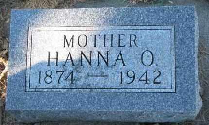 GUSTAD, HANNA O. - Yankton County, South Dakota   HANNA O. GUSTAD - South Dakota Gravestone Photos