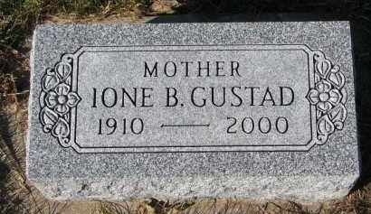 GUSTAD, IONE B. - Yankton County, South Dakota | IONE B. GUSTAD - South Dakota Gravestone Photos