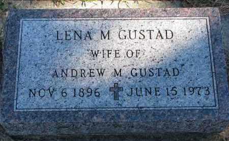 GUSTAD, LENA M. - Yankton County, South Dakota | LENA M. GUSTAD - South Dakota Gravestone Photos