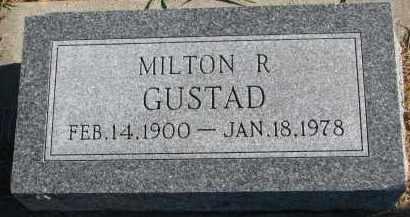 GUSTAD, MILTON R. - Yankton County, South Dakota | MILTON R. GUSTAD - South Dakota Gravestone Photos
