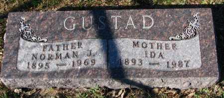 GUSTAD, NORMAN J. - Yankton County, South Dakota | NORMAN J. GUSTAD - South Dakota Gravestone Photos