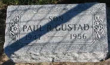 GUSTAD, PAUL R. - Yankton County, South Dakota | PAUL R. GUSTAD - South Dakota Gravestone Photos