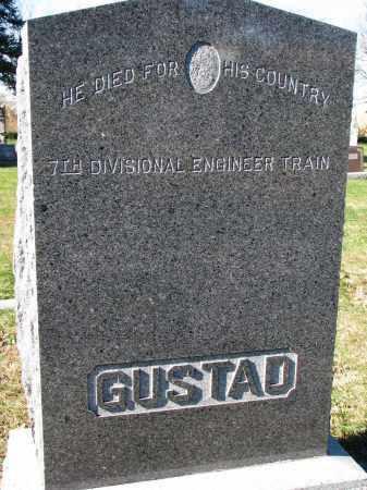 "GUSTAD, ALEXANDER ""ALEX"" - Yankton County, South Dakota | ALEXANDER ""ALEX"" GUSTAD - South Dakota Gravestone Photos"