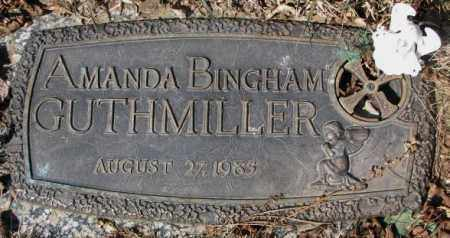 GUTHMILLER, AMANDA - Yankton County, South Dakota | AMANDA GUTHMILLER - South Dakota Gravestone Photos