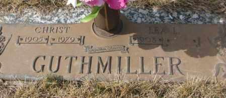 GUTHMILLER, CHRIST - Yankton County, South Dakota | CHRIST GUTHMILLER - South Dakota Gravestone Photos