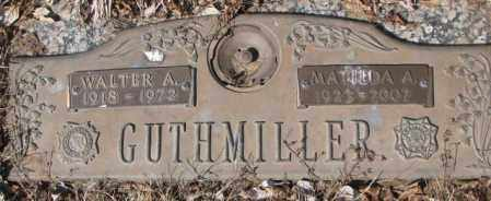GUTHMILLER, WALTER A. - Yankton County, South Dakota | WALTER A. GUTHMILLER - South Dakota Gravestone Photos