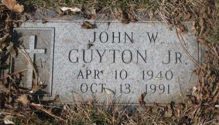 GUYTON, JOHN W. JR. - Yankton County, South Dakota | JOHN W. JR. GUYTON - South Dakota Gravestone Photos