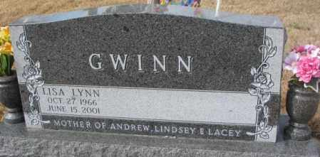 GWINN, LISA LYNN - Yankton County, South Dakota | LISA LYNN GWINN - South Dakota Gravestone Photos