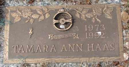 HAAS, TAMARA ANN - Yankton County, South Dakota   TAMARA ANN HAAS - South Dakota Gravestone Photos