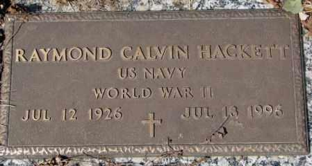 HACKETT, RAYMOND CALVIN (WW II) - Yankton County, South Dakota   RAYMOND CALVIN (WW II) HACKETT - South Dakota Gravestone Photos