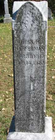 HAFFERMAN, JOHN H. - Yankton County, South Dakota | JOHN H. HAFFERMAN - South Dakota Gravestone Photos